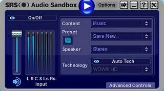 AUDIO SANDBOX SRS V1.10.2.0 TÉLÉCHARGER